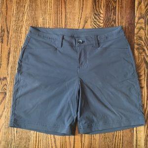 Eddie Bauer Hiking Shorts, Gray Petite 2
